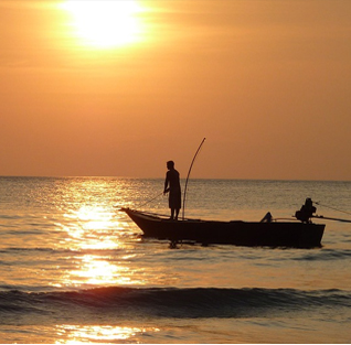 Fishing in Mozambique